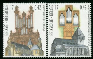 Belgium Church organs 3-4