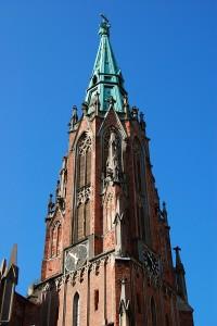 Gertrudes-church-spire